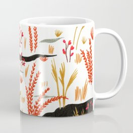 Night Snow illustration by Amanda Laurel Atkins Coffee Mug