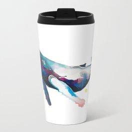 Humpback Whale Metal Travel Mug