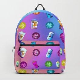 Pattern Dutch bros coffee Backpack