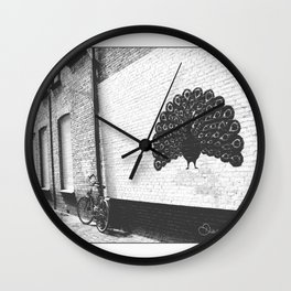 Pavo Wall Clock