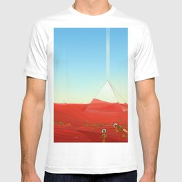 Mirror Pyramids T-shirt