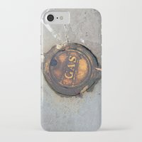 pocket fuel iPhone & iPod Cases featuring Sidewalk Fuel by Exavia B