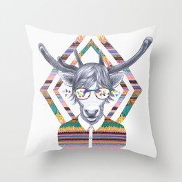 DREAMTAPES, created by Elena Mir and Kris Tate Throw Pillow