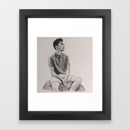 Mr. Unknown Framed Art Print