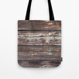 Aged Wood rustic decor Tote Bag