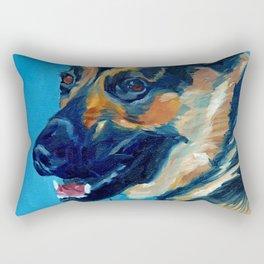 Baron the German Shepherd Rectangular Pillow