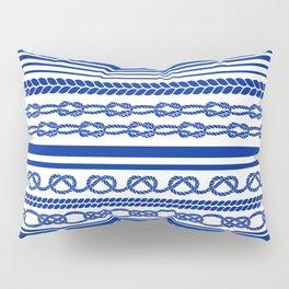 NAUTIC KNOTS: COBALT BLUE Pillow Sham