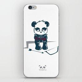 Sad Archer Panda iPhone Skin