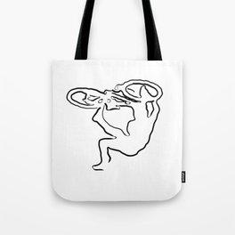 MTB Tricks Tote Bag