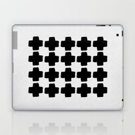 Black and White Abstract III Laptop & iPad Skin