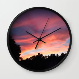 When the Sky Sings Wall Clock