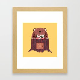 Phil? I thought that was you! Framed Art Print