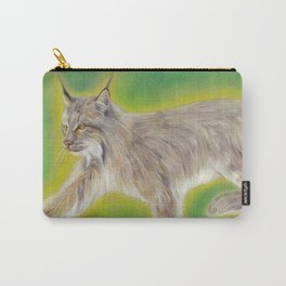 Glowing lynx Carry-All Pouch