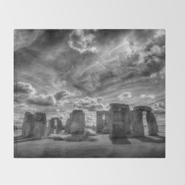 Ancient Stonehenge Throw Blanket