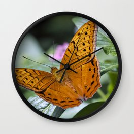 The Cruiser Butterfly Wall Clock