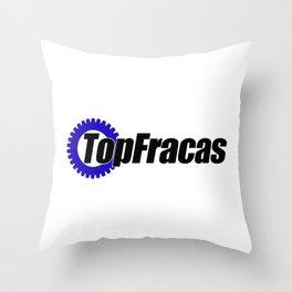 Top Fracas  Throw Pillow