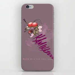 Ka Mi Ka Ze iPhone Skin