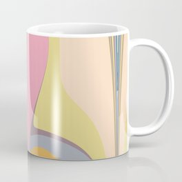 Abstract Pastel Coffee Mug