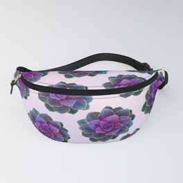Ultra Violet Succulents Fanny Pack
