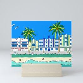 Miami South Beach Mini Art Print