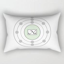 Sodium - Bohr Model Rectangular Pillow