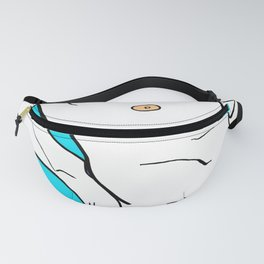 My Body Keeps Changing My Mind Fanny Pack