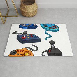 Video Game  Controls Rug