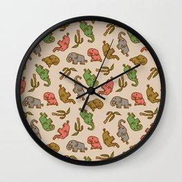 Little Elephants Wall Clock