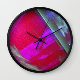 Signs in the Sky Collection III- Streaks and lights Wall Clock