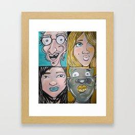 Diversity Framed Art Print