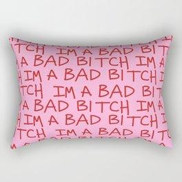 I'm A Bad B  Rectangular Pillow