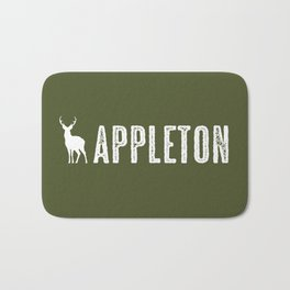 Deer: Appleton, Wisconsin Bath Mat