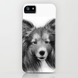 Shetland Sheepdog iPhone Case