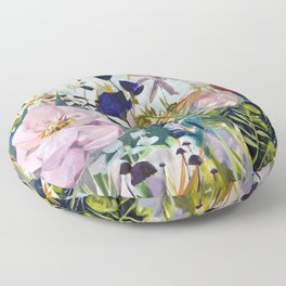 For The Beauty of the Earth Floor Pillow
