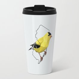 New Jersey – American Goldfinch [Fly Home: State Bird Collection] Travel Mug