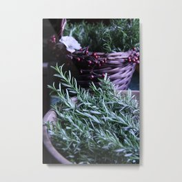 Rosemary collection Metal Print