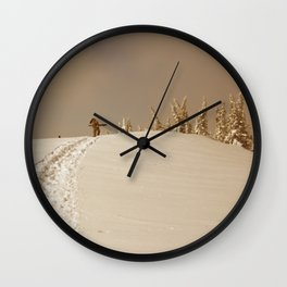 Winter day 5 Wall Clock