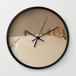 Winter day 5 Wall Clock