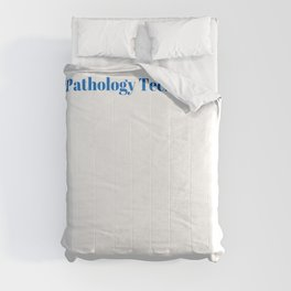 Pathology Technician Ninja in Action Comforters