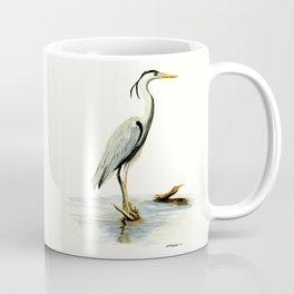 Blue Heron - watercolor bird, home decor, nursery wall art Coffee Mug