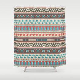 Fair-Hyle Knit Shower Curtain