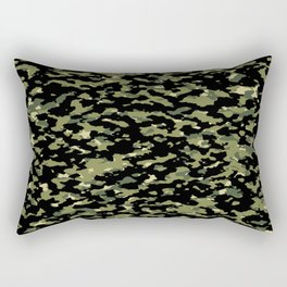 Camouflage: Jungle III Rectangular Pillow