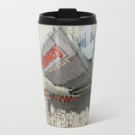 Times Square Sketch, Subway sketch, New York Travel Mug