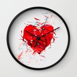 Fragile Heart Wall Clock
