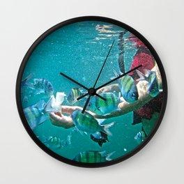 Feeding Time! Wall Clock
