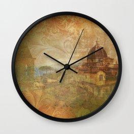 Italian Manuscript Wall Clock