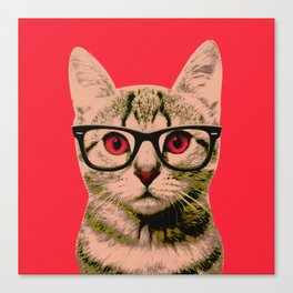 Warhol Cat 4 Canvas Print