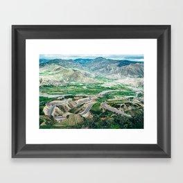 Panamericana (Ecuador) Framed Art Print