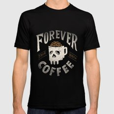 Forever Mens Fitted Tee LARGE Black