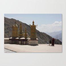 Call to Meditation Canvas Print